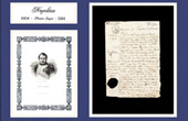 Historical Document - Reign of Napoleon I of France - 1808 - First French Empire
