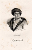 Portrait of Fontenelle - Bernard Le Bouyer de Fontenelle (1657-1757) - French Author - Nephew of Corneille