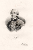 Portrait of Buffon (1707-1788) - French Naturalist - Encyclopedic Author