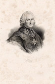 Portrait of Joseph Marie Terray (1715-1778) - Priest - Controller General of Finances - Louis XV of France