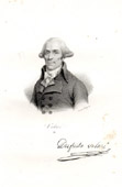 Portrait of Dufriche-Valaz� (1751-1793) - Deputy of National Convention