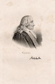 Portrait of Malesherbes (1721-1794) - Chr�tien Guillaume de Lamoignon de Malesherbes - French Jurist and Politician