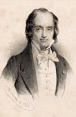 Portrait of Casimir Delavigne (1793-1843) - French Dramaturge