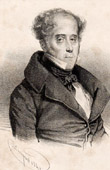 Portrait of Chateaubriand (1768-1848) - Author and French Politician