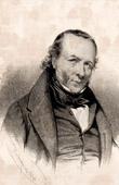 Portrait of Louis Marie de Lahaye Cormenin (1788-1868) - French Politician