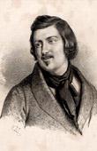 Portrait of Honor� de Balzac (1799-1850) - French Author