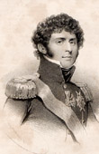 Portrait of Jean-Baptiste Jules Bernadotte (1763-1844) - Marshal of the Empire - Charles XIV John of Sweden