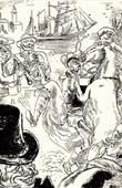 Erotic Caricature - Erotica - Les Filles de Camaret