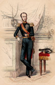 Portrait of William II (1792-1849) - King of the Netherlands