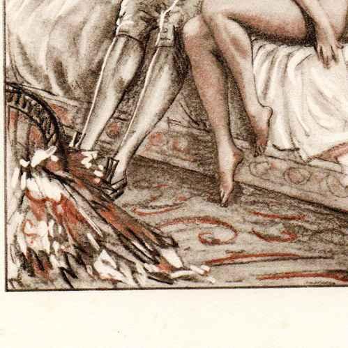 Antique erotic art french kuhn