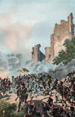 Austrian Army vs French Army - Italy - Battle of Millesimo - Castle of Cossaria - French Revolutionary Wars - 1796