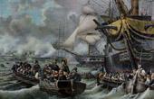 �gyptische Expedition - Osmanisches Reich - Ausladen von Napoleon auf der Insel von Malta - Armee d'Orient - 1798