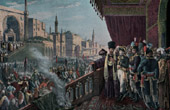Napoleonic Campaign in Egypt - Ottoman Empire - Cairo - Napoleon at the Celebration of Muhammad - Armee d'Orient - 1798