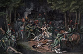 French Revolution - Assassination of French Plenipotentiaries in Rastadt (April 28th, 1799) -  Bonnier Treilhard Roberjot