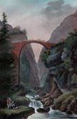 French Revolutionary Wars - Switzerland - Division Lecourbe - Schöllenen Gorge - Teufelsbrücke - Devil's Bridge - Canton of Uri - 1799