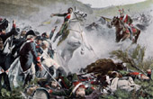 French Revolutionary Wars - Army of the Rhine - Battle of Neubourg - Death of de la Tour d'Auvergne - 1800