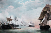 French Revolutionary Wars - Naval Battle - Spain - Frigate - Cádiz - 1801