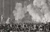 Révolution française - Prise de la Bastille - Arrestation de De Launay Gouverneur de la Bastille (14 Juillet 1789)