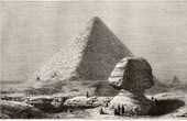 Great Pyramid of Giza - Pyramid of Cheops - Sphinx (Egypt)