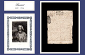 Historical Document - Reign of Louis XIV of France - 1703 - Death of Jacques-Bénigne Bossuet