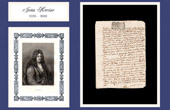 Historical Document - Reign of Louis XIV of France - 1699 - Death of Jean Racine