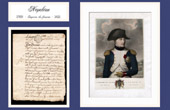 Historical Document - Reign of Louis XV of France - 1769 - Birth of Napoleon Bonaparte