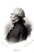 Retrato de Jean-Pierre Claris de Florian (1755-1794) - Fabulista - Dramaturgo