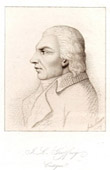 Portrait of Julien Louis Geoffroy (1743-1814) - French Author and Literary critic