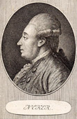 Portrait of Necker (1734-1804) - Swiss Politician of the French Revolution