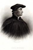 Portrait of Ulrich Zwingli (1484-1531) - Swiss Theologian