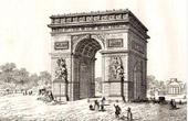 Monuments of Paris - Arc de Triomphe of Paris (1836)