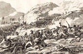 Haiti - Saint-Domingue - Storming of Gros Morne