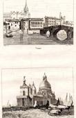 (Italy) View of Verona - Ponte Pietra - Stone Bridge - Pons Marmoreus - Roman arch bridge - View of Venice - Veneto - La Dogana di Mare