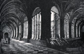 Salamanca (Spain) - View of Cloister of the Convent of San Esteban - Castile and Le�n
