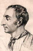Portrait of Henri de Saint-Simon (1760-1825) - French Philosopher
