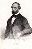 Portrait of Francesco Crispi (1819-1901) - Italian Politician