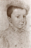 Portrait of Charles IX Child (1550-1574)