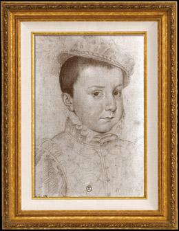Portr�t von Karl IX Kind (1550-1574)