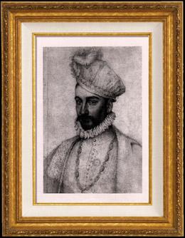 Porträt von Karl IX (1550-1574) - König von Frankreich