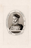 Portrait of Charles IX (1550-1574) - King of France - Medallion