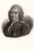 Portrait of Linn� (1707-1778) - Swedish Botanist