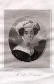 Portrait of Claire de Duras (1777-1828) - French Author