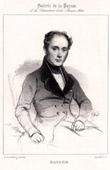 Portrait of Jean-François Bayard (1796-1853) - French Dramaturge