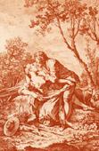 Pastorale - Pastoral Scene - Romanticism (Fran�ois Boucher)