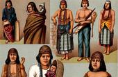 Traditionelle Kleidung - Amerika - Amerindiens