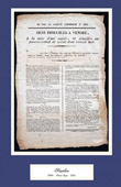 Historical Document - Reign of Napoleon I of France - 1813 - First French Empire