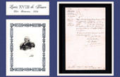 Historical Document - Louis XVIII of France - 1819 - Infantry - Order of Mission