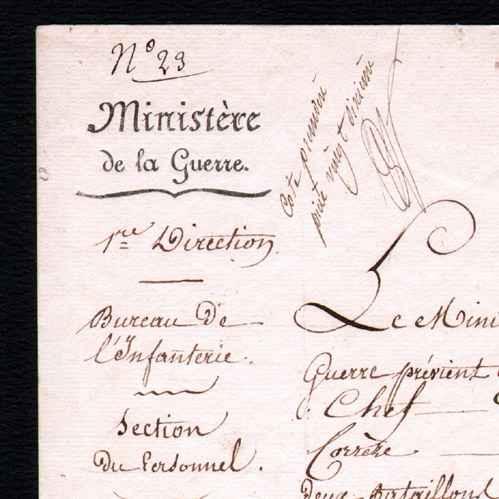 Documento storico luigi xviii di francia 1819 for Piani di missione