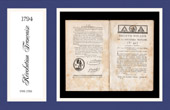Historical Document - French Revolution - 1794 - Law of the National Convention