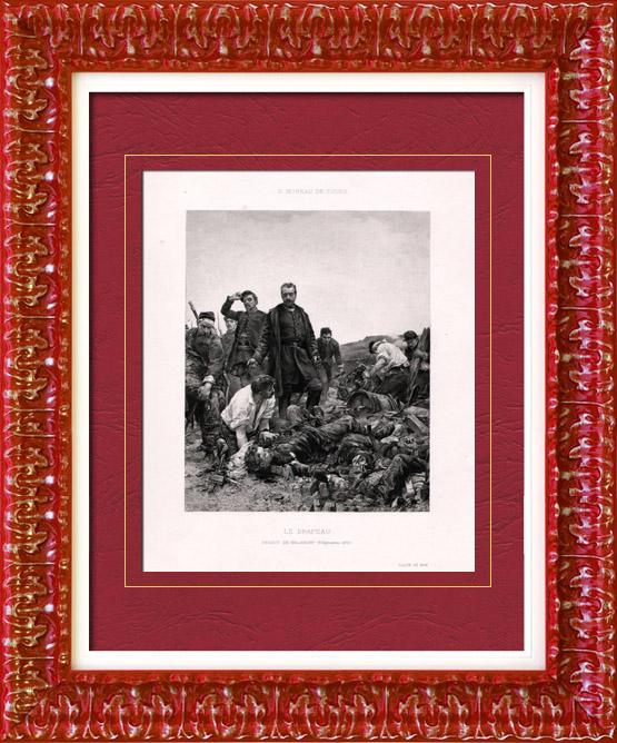 Antique Prints & Drawings | Painting - Exposition 1888 - Georges Moreau de Tours (1848-1901) - Banner | Heliogravure | 1888
